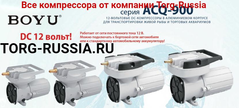 BOYU ACQ компрессор от 12V